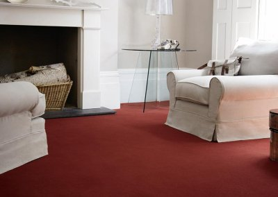 Extensive range of carpets